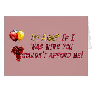 Fine Wine Cards