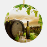 Fine Wine Christmas Tree Ornament