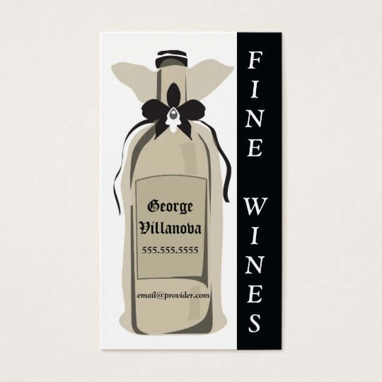 Fine Wine Profile Card