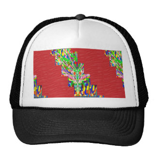 FINEART and SILKY Red Base DIVA GIFTS lowprices Trucker Hat
