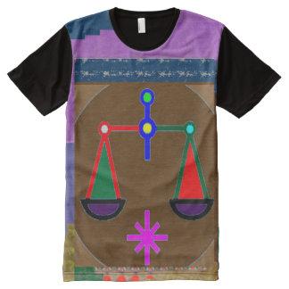 FineArt Graphics zodiac symbols artistic All-Over Print T-Shirt