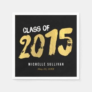 Finely Painted Editable Color Graduation Napkins Disposable Serviette