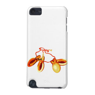 Finger Castanets on a string graphic design iPod Touch (5th Generation) Cases