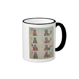 Finger counting from 1 to 20000 ringer mug