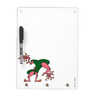Finger Dancing Key Holder and Pen Dry Erase Board