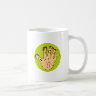 Finger Family Drawing Mugs
