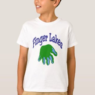Finger Lake Cartoon T-Shirt