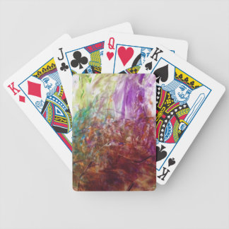 Finger Paint Fun Poker Deck