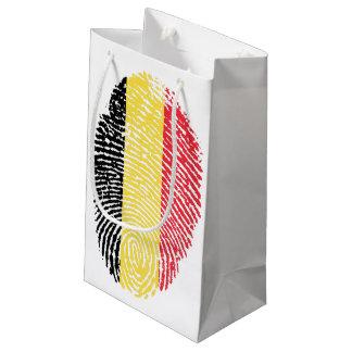 FINGER PRINT BELGIUM BELGIQUE BELGIË BELGIUM SMALL GIFT BAG