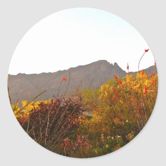 Finger Rock - Catalina Mountains - Tucson Arizona Sticker