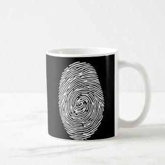 fingerprint4 coffee mug