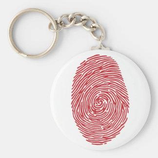 fingerprint5 basic round button key ring