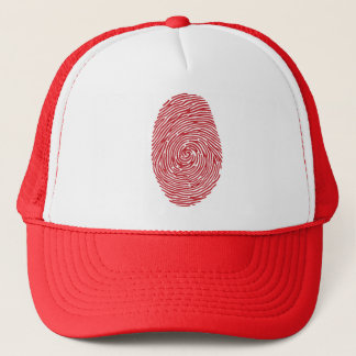 fingerprint5 trucker hat