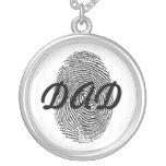 Fingerprint Father's Day Keepsake Pendant