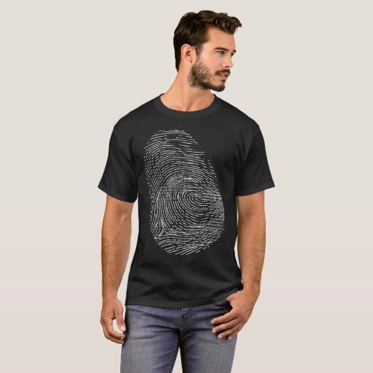 Fingerprint Forensic Science T-Shirt