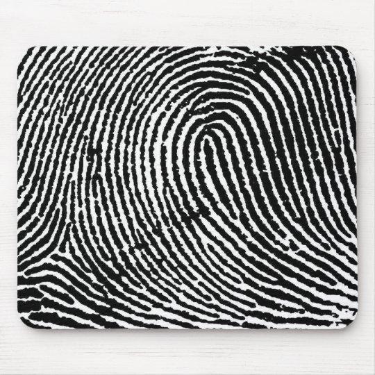 Fingerprint Mouse Mat