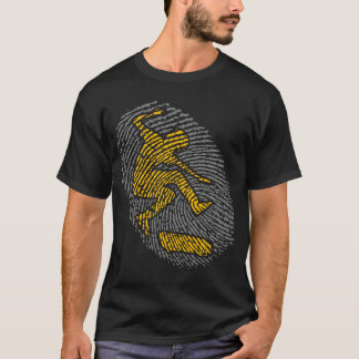 fingerprint skater t-shirt