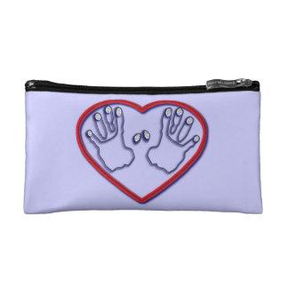 Fingerprints of God - 1 Peter 5:6,7 Cosmetic Bag
