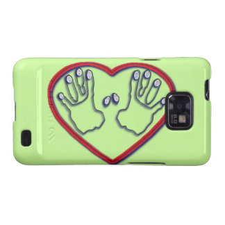 Fingerprints of God - 1 Peter 5:6-7 Samsung Galaxy SII Cover