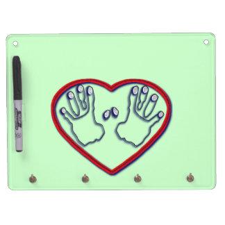Fingerprints of God - 1 Peter 5:6,7 Dry Erase Boards