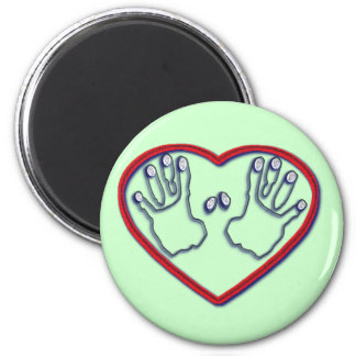 Fingerprints of God - 1 Peter 5:6-7 Magnet