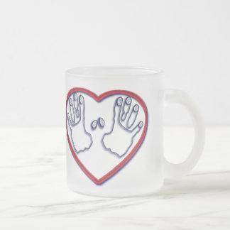 Fingerprints of God - 1 Peter 5:6-7 Mug