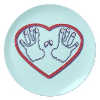 Fingerprints of God - 1 Peter 5:6-7 Plates