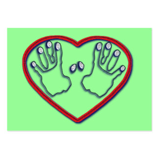 Fingerprints of God - 1 Peter 5:6-7 Tract Card / Business Cards