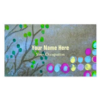 Fingerprints & Twigs Pack Of Standard Business Cards