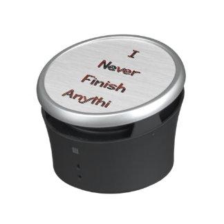 Finish Bluetooth Speaker