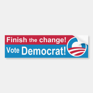 Finish Bumper Sticker