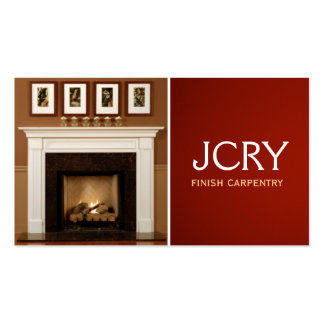 Finish Carpentry, Fireplace Business Card