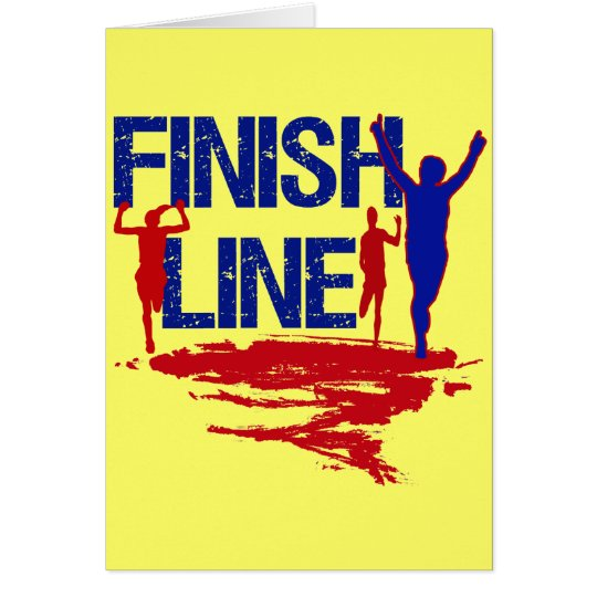FINISH LINE RUNNERS CARD