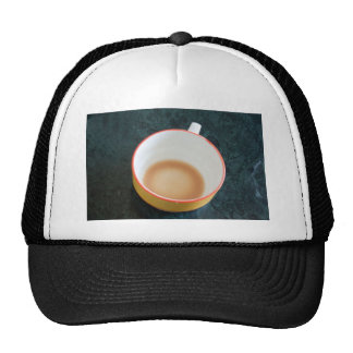 Finished cup of tea trucker hat