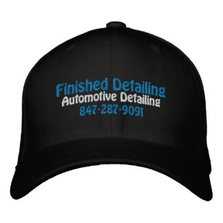 Finished Detailing, Automotive Detailing, 847-2... Embroidered Baseball Cap