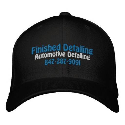 Finished Detailing, Automotive Detailing, 847-2... Embroidered Baseball Cap