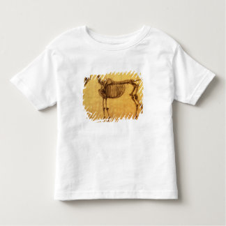 Finished Study for the First Skeletal Table Toddler T-Shirt