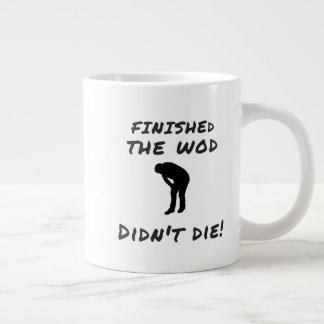 Finished the WOD - Crossfit-Inspired Novelty Mugs