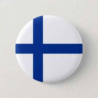 finland 6 cm round badge