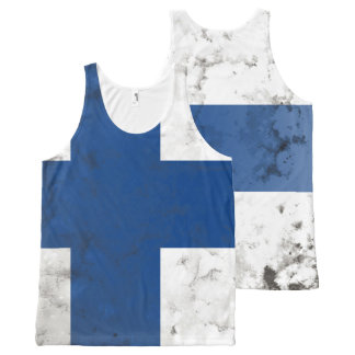 Finland All-Over Print Tank Top
