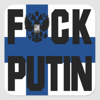 Finland Anti Putin Sticker