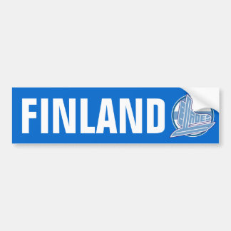 Finland Blades Car Bumper Sticker