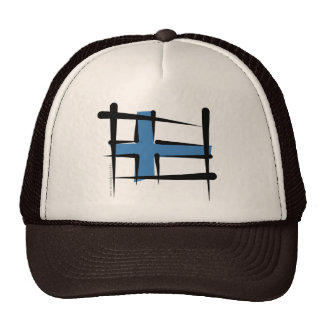 Finland Brush Flag Cap