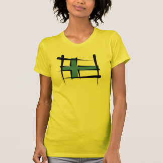 Finland Brush Flag T-Shirt