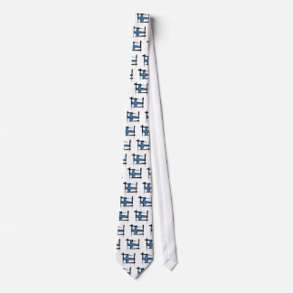 Finland Brush Flag Tie