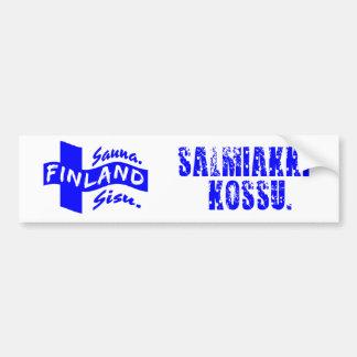 Finland bumpersticker bumper sticker