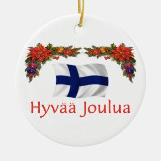 Finland Christmas Christmas Ornament