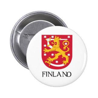Finland Coat of Arms 6 Cm Round Badge