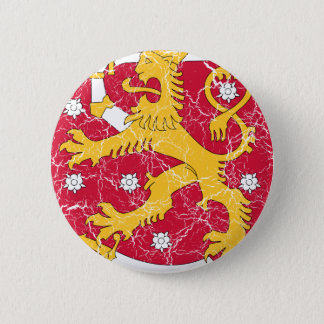 Finland Coat Of Arms 6 Cm Round Badge