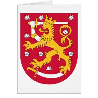 Finland Coat of arms FI Card